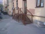 продукция компании Амурстройметалл - Крыльца и лестницы.
